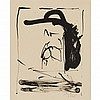 Robert Motherwell THE ROBINSON JEFFERS PRINT (BELKNAP 250) Lithograph, with Jeffers, APROPOS, Robert Motherwell, $300
