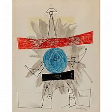 Byron Browne American, 1907-1961 Abstraction, 1949