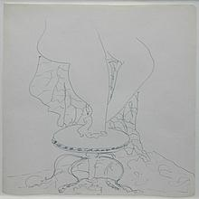 Milton Avery American, 1885-1965 Legs & Feet
