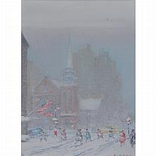 Johann Berthelsen American, 1883-1972 St. James Church, New York