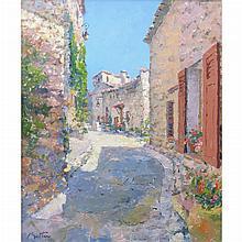 Pierre Bittar French, b. 1934 Calme au Village