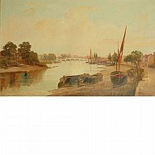 British School 19th Century On the Thames