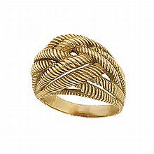 Gold Knot Ring, Van Cleef & Arpels, France