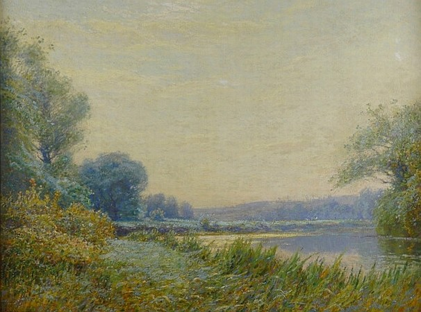 Alexis-Jean Fournier 1865-1948 A Bend in the River
