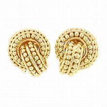 Pair of Gold Earrings