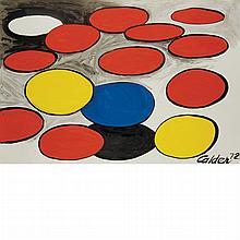 Alexander Calder American, 1898-1976 Untitled, 1972