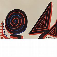 Alexander Calder American, 1898-1976 Untitled, 1974