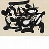 James Brooks American, 1906-1992 Untitled, 1977, James D. Brooks, $3,500