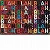 Mel Bochner American, b. 1940 Blah Blah Blah, 2014, Mel Bochner, $7,500