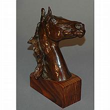 Frederick George Richard Roth American, 1872-1944 Horse Head