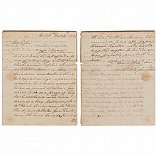 WASHINGTON, GEORGE Autograph letter signed to Major General Nathanael Greene regarding his horse. Headquarters [Middlebrook:...