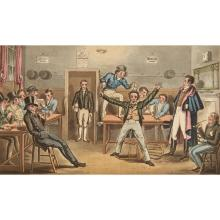 [COLOR PLATE] EGAN, PIERCE. The Life of an Actor. London: Arnold, 1825. Modern half calf. 9 1/2 x 5 5/8 inches (24.5 x 15 cm...