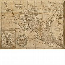 [MAPS] KITCHIN, THOMAS. Mexico or New Spain; in which the Motions of Cortes may be traced. London: Strahan and T. Cadell, 17...