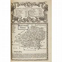 [ENGLISH TOPOGRAPHY] BOWEN, EMANUEL. Britannia depicta or Ogilby improv'd; being a correct coppy of Mr. Ogilby's actual survey of al.