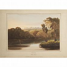 [COLOR PLATE] COX, DAVID. A Treatise on Landscape Painting and Effect in Water Colours: from the first rudiments to the finished pic.