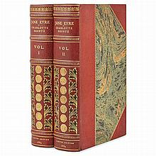 [FINE BINDINGS] BRONTE, CHARLOTTE. Jane Eyre. Philadelphia: Robert M. Lindsay, 1884. The Haworth Edition, number 23 of 75 se...