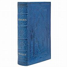 MELVILLE, HERMAN Redburn: His first voyage. New York: Harper & Brothers, 1850. Second edition. Full modern morocco. 7 3/8 x...