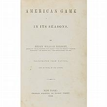 [SPORTING] Group of approximately twelve works on shooting, big game etc. Includes six works by Frank Forester [i.e. William...