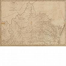 [MAPS] The State of Virginia from the best Authorities. By Samuel Lewis, 1794. Philadelphia: Mathew Carey, [circa 1800...