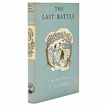 LEWIS, C.S. The Last Battle. London: The Bodley Head, 1956. First edition, with