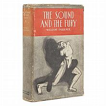 FAULKNER, WILLIAM The Sound and the Fury.