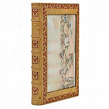 [COSWAY BINDING] DICKENS, CHARLES. The Chimes. London: Chapman & Hall, 1855. First edition, first issue, with the publisher'...