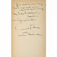 STEINBECK, JOHN Of Mice and Men. New York: Covici Friede, [1937]. First edition, inscribed