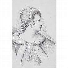 [ILLUSTRATION ART] [GREVEDON, PIERRE-LOUIS HENRI, attributed]. An album of twenty bust-length portraits of women, rendered i...
