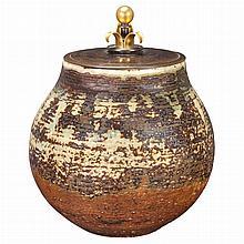 Knud Andersen Danish, 20th Century Lided Vase, 1930s