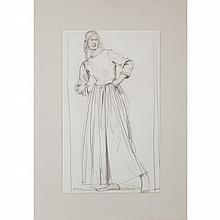 Augustus Edwin John British, 1878-1961 Portrait of Edith Ashley