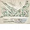 John Marin American, 1870-1953 A Mountain Lake, 1947, John Marin, $3,000