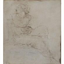 Central Italian School 16th Century  Seated Woman
