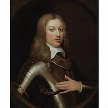 English School 17th Century Portrait of a Nobleman in Armor