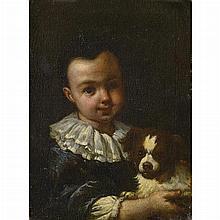 Attributed to Antonio Mercurio Amorosi A Boy with a Dog