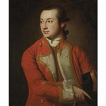 Circle of Pompeo Batoni Gentleman in a Red Jacket, 1761