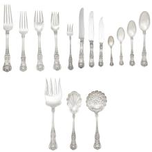 Tiffany & Co. Sterling Silver Flatware Service; Together with a Miscellaneous Group of Sterling Silver Flatware