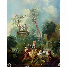 After Jean-Honore Fragonard The Progress of Love