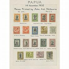Papua New Guinea 1932 to 1952 Mint and Used