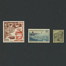 Monaco 1891 to 1968 Stamp Collection