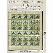 Papua New Guinea 1907 to 1917 Sheets