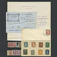 United States Stamps and Postal History Potpourri