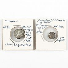 Two Roman Republic Coins