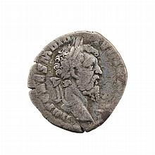 Roman Empire Didius Julianus 193 AD Denarius S. 1709   After the murder of Pertinax the position was put up for auction to t...
