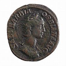 Roman Empire Orbiana Bronze Sesterius AD 225