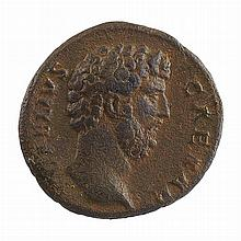 Roman Empire Aelius AD 136-138 Bronze Aes   Near Choice coin noted as S. 1118, bust facing right with reverse showing Fortun...