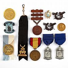 Group of Medals or Medallions