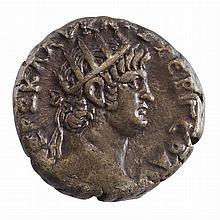 Roman Provincial Alexandria Egypt Poppaea Billon Tetradrachm S. 713