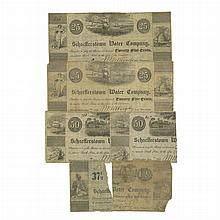 United States Scrip Notes Schaefferstown Water Company