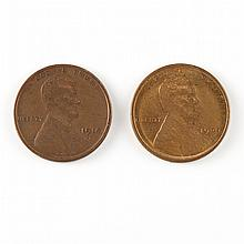 United States Wheat Cents 1909 to 1948