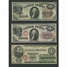 United States Bank Note Lot of Three